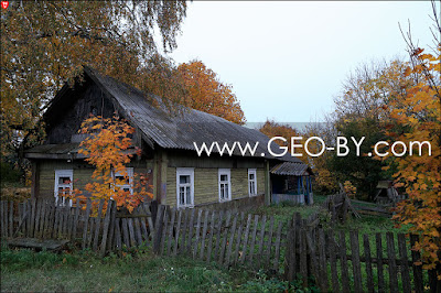 Деревня Веселое. Заброшенная изба