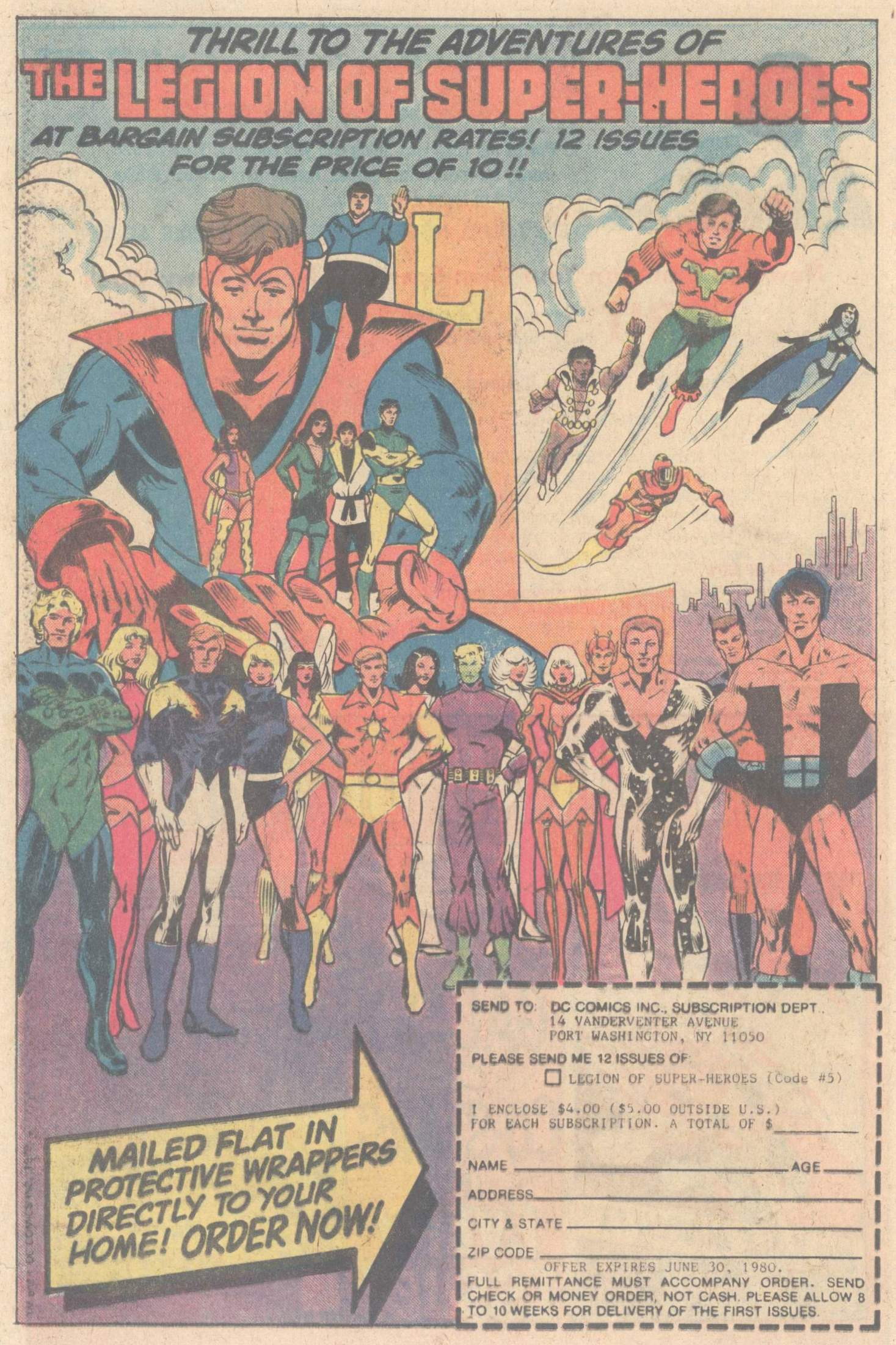 Legion of Super-Heroes (1980) 264 Page 23