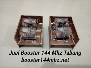 Switching TX RX Booster 144Mhz Tabung
