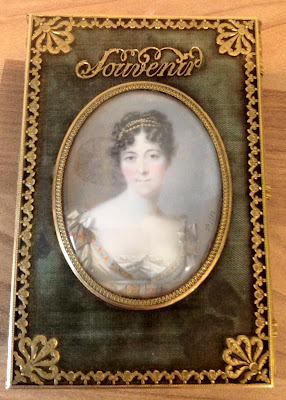 Miniature of Lady Jersey in souvenir booklet  © Jayne Parkes