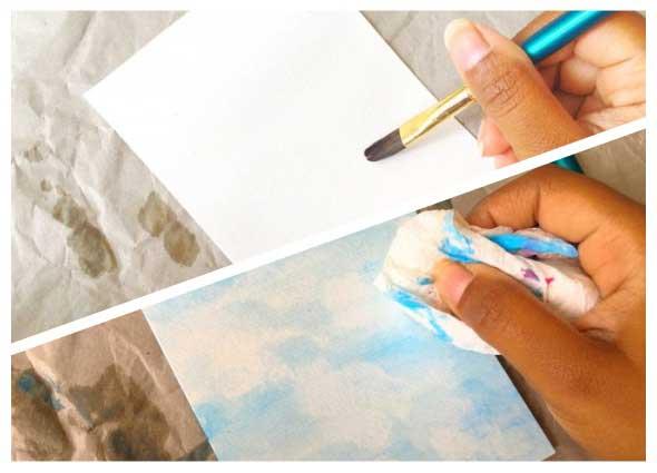 3 Tecnicas para pintar con acuarela