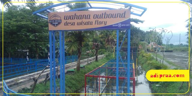 Wahana Outbound Desa Wisata Flory | adipraa.com