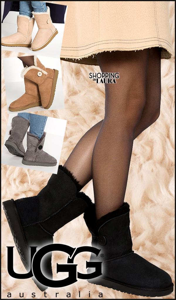 Boots fourrées femme noires, grises, fauves ou beiges basses UGG