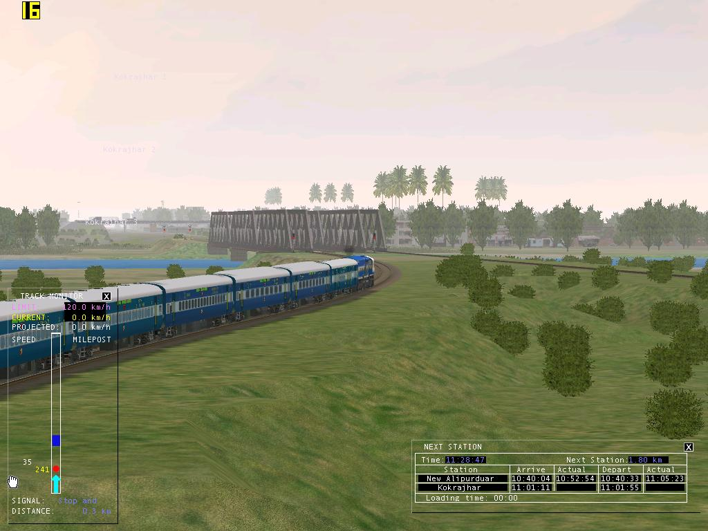 MSTS Open Rails Indian Railways