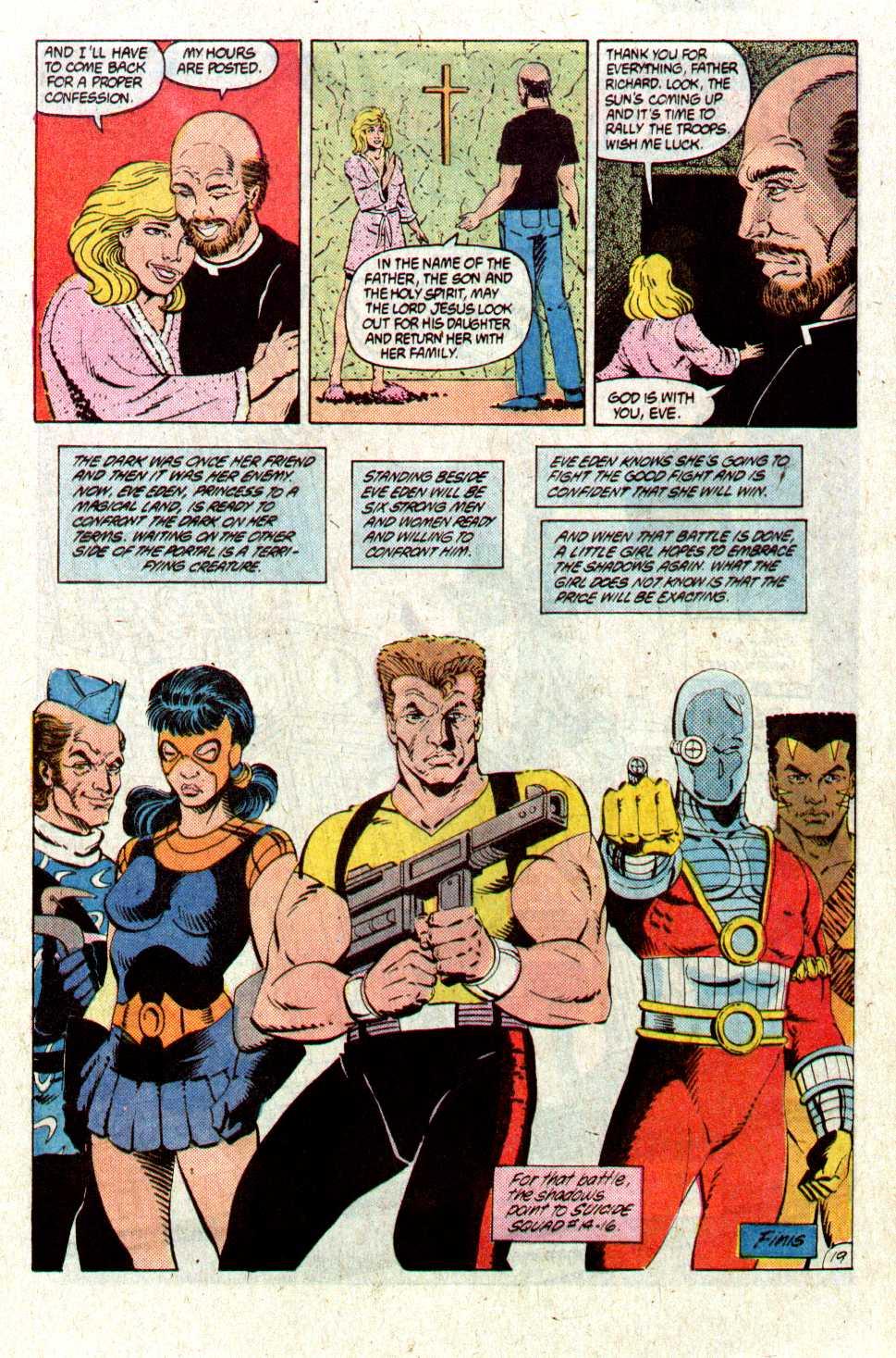 Read online Secret Origins (1986) comic -  Issue #28 - 22