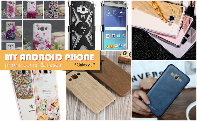 Galaxy J7 2016 Back Cover Cases