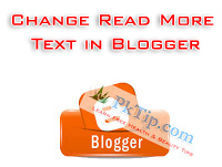 Change Read More Text in Blogger