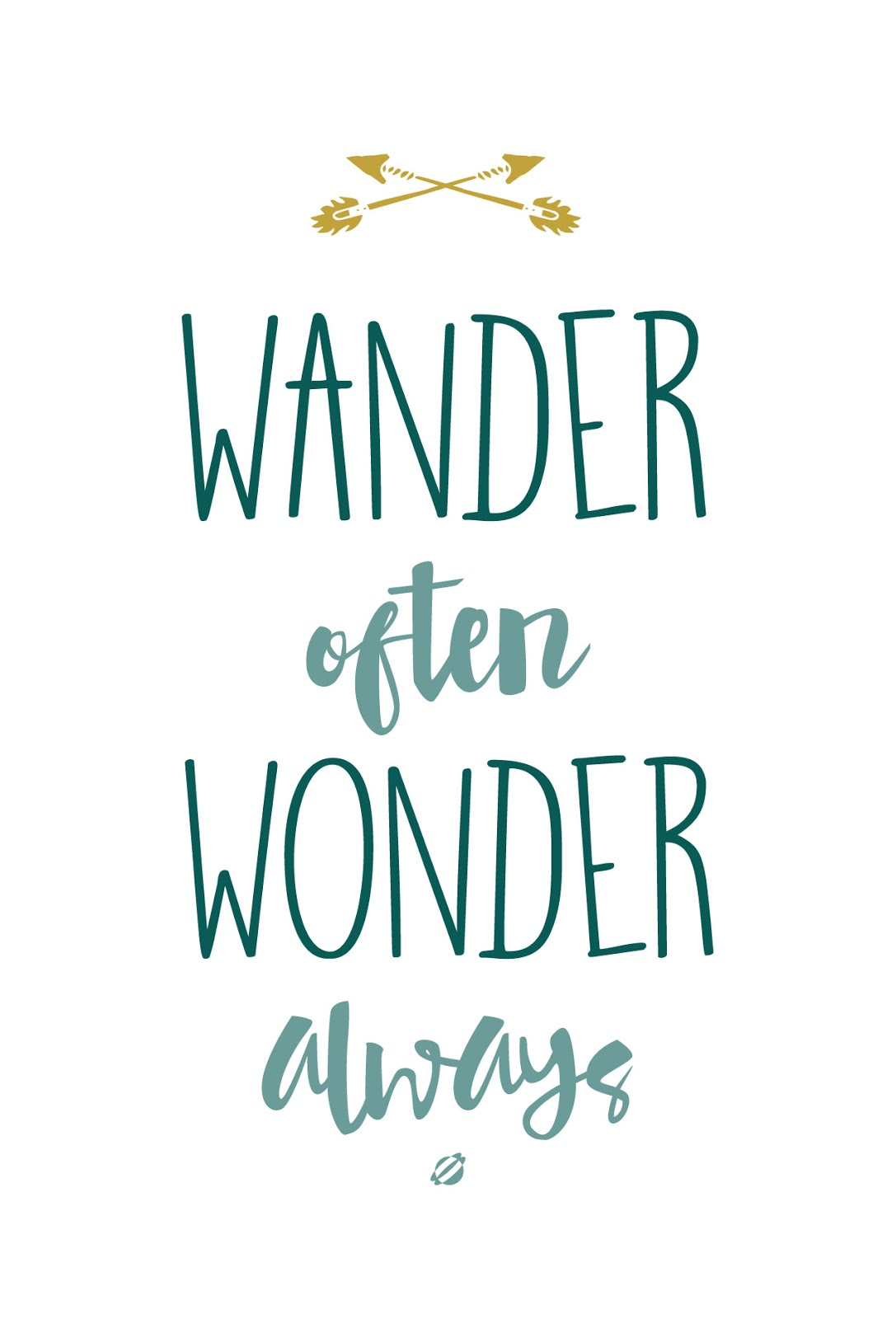 Image result for wander often wonder always