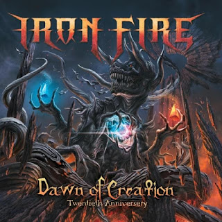 "Το lyric video των Iron Fire για το ""Dawn of Creation"" από το album ""Dawn of Creation: Twentieth Anniversary"""
