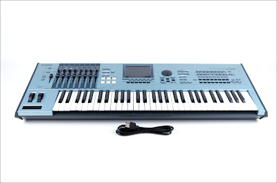 MATRIXSYNTH: Yamaha Motif XS6 synthesizer keyboard
