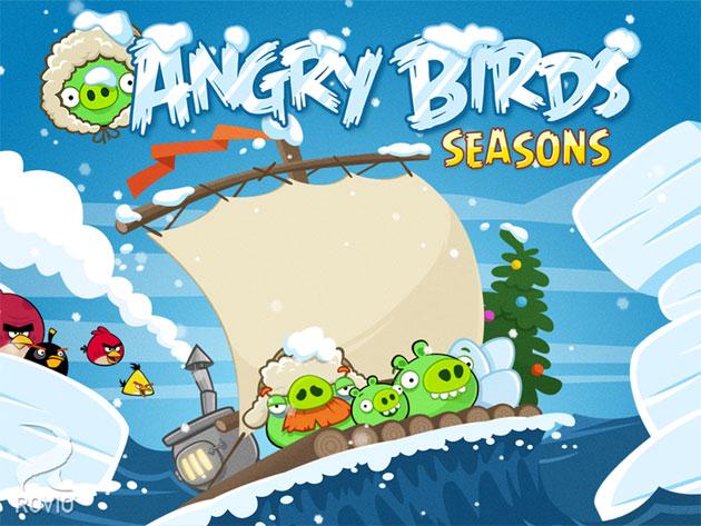 Angry Birds Seasons Game