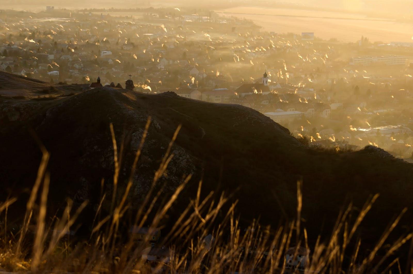 Reggeli színorgia a Budaörsi Kopároknál