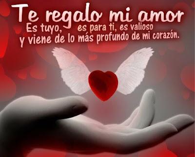 Hermosas Imagenes De Corazones Con Alas Y Frases De Amor Imagenes