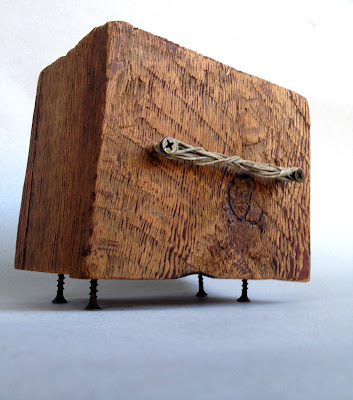 Ben Hancock | Something Old | bandsaw box | $170
