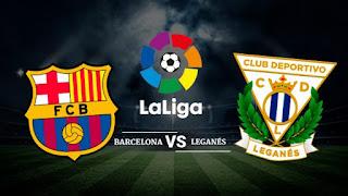 ليغانيس برشلونة مباشر