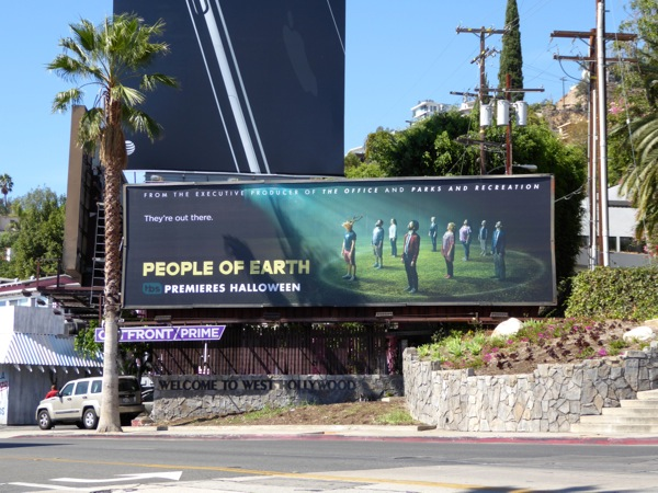 People of Earth series premiere billboard