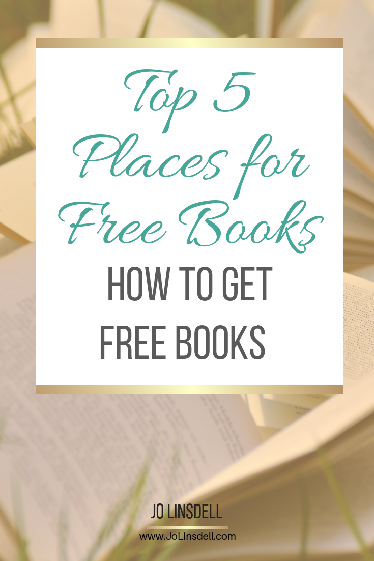 Top 5 Places for  Free Books: How to get free books