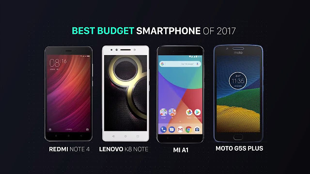 Best Budget Smartphones of 2017