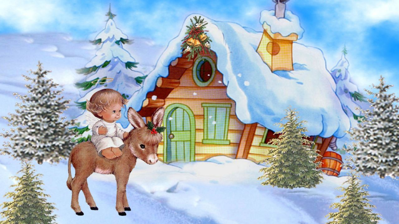 Daily Rambler Christmas Angel Wallpapers