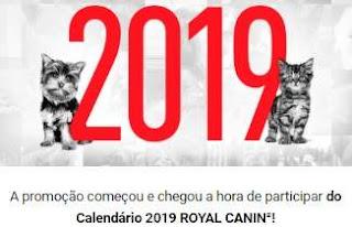 Cadastrar Promoção Calendário 2019 Royal Canin Ração Grátis