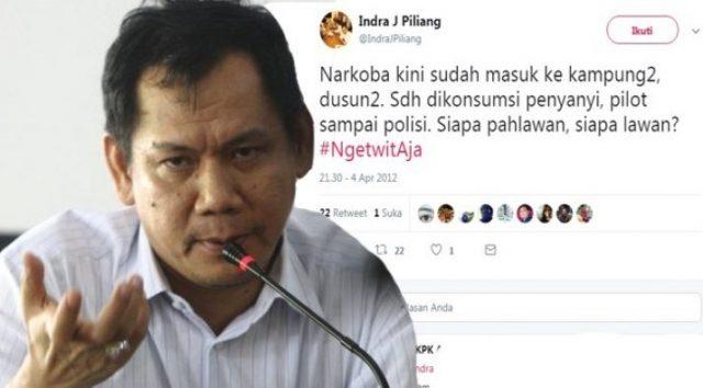 Politisi Golkar Indra J Piliang