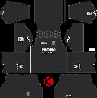 Villarreal CF 2017/18 - Dream League Soccer Kits
