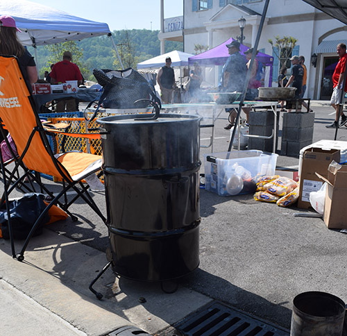 Pit Barrel Cooker at the World Food Championship qualifying Ooltewah BBQ Brawl