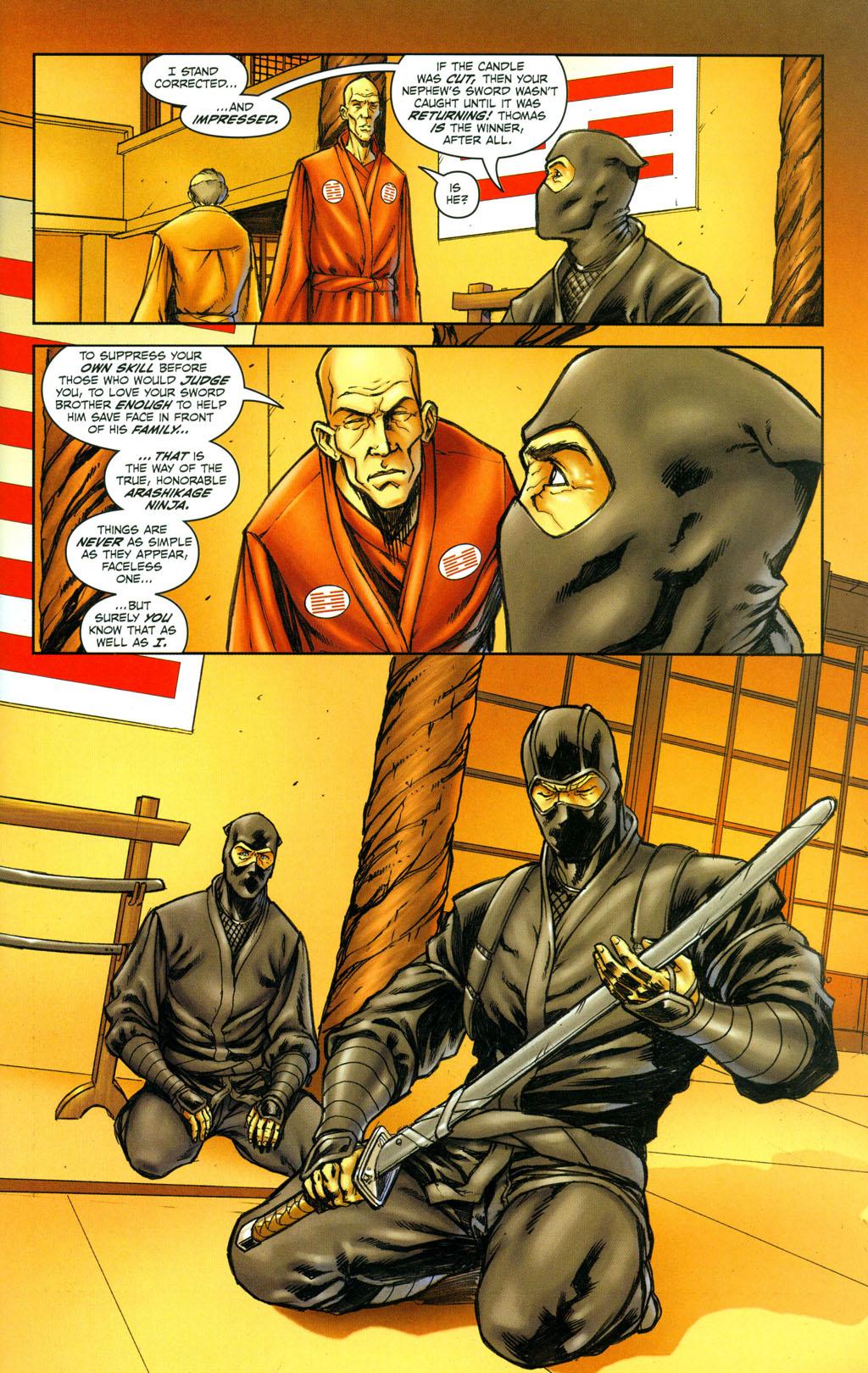 Read online Snake Eyes: Declassified comic -  Issue #4 - 5