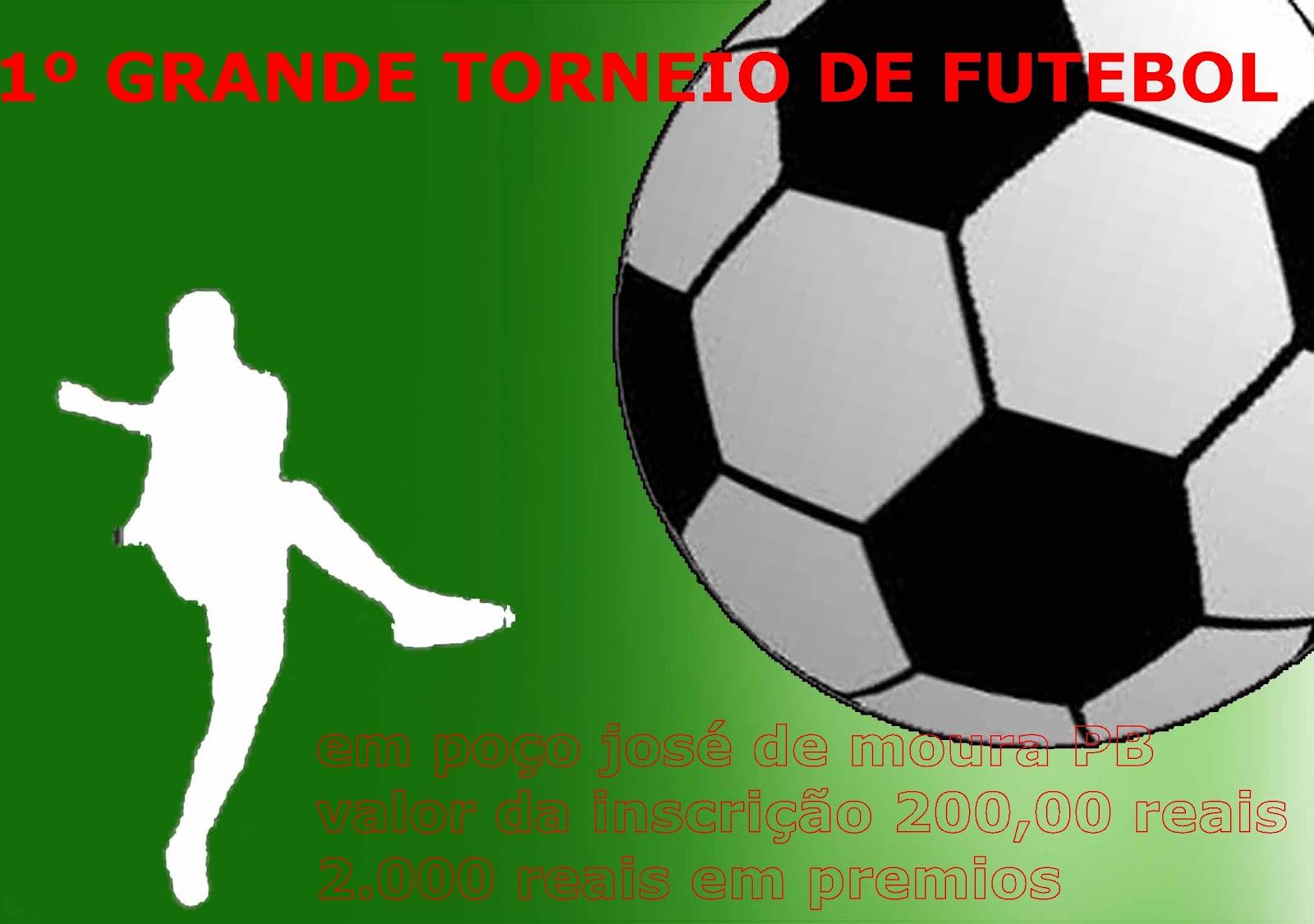 b1602b3255a3f 1º GRANDE TORNEIO DE FUTEBOL