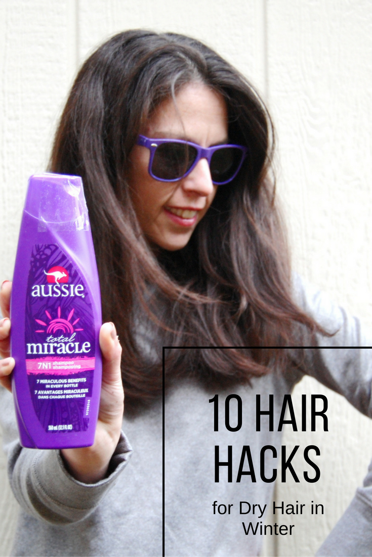 Hair Hacks for Dry Hair in Winter