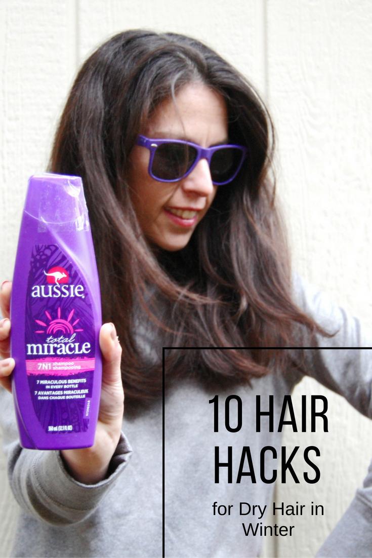 Hair Hacks for Dry Hair in Winter