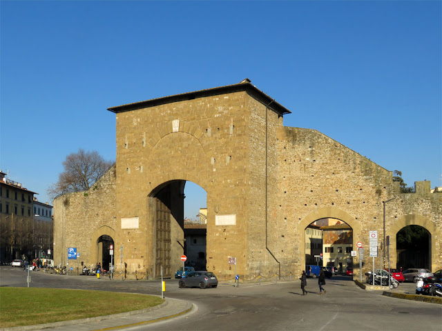Porta Romana, Roman Gate, Piazzale di Porta Romana, Florence