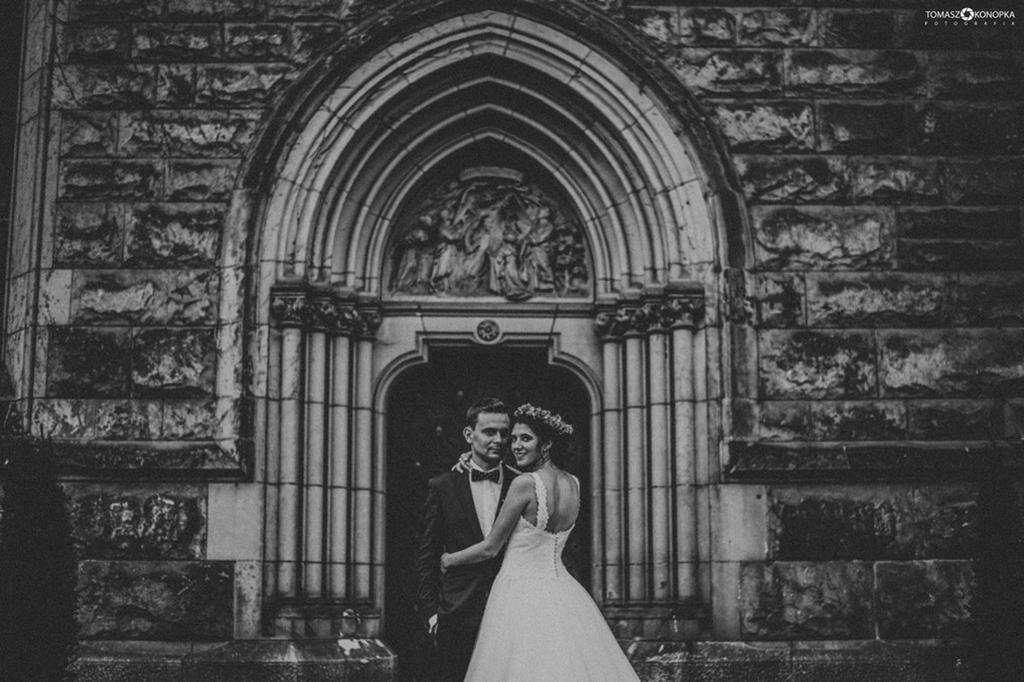 zamek moszna sesja ślubna tomasz konopka