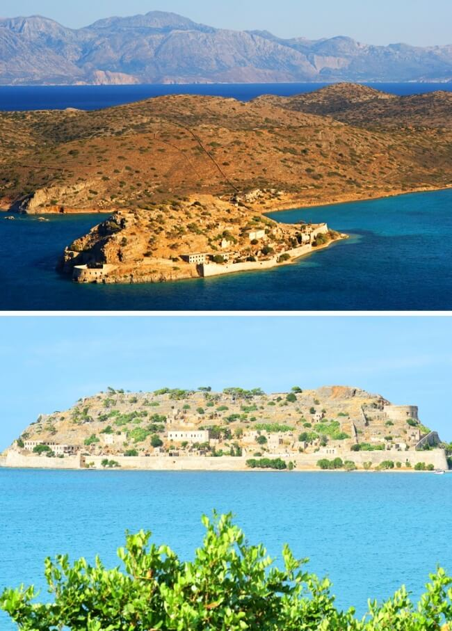 12 Once Booming Places Around The World That Are Now Abandoned And Empty - Spinalonga, Greece