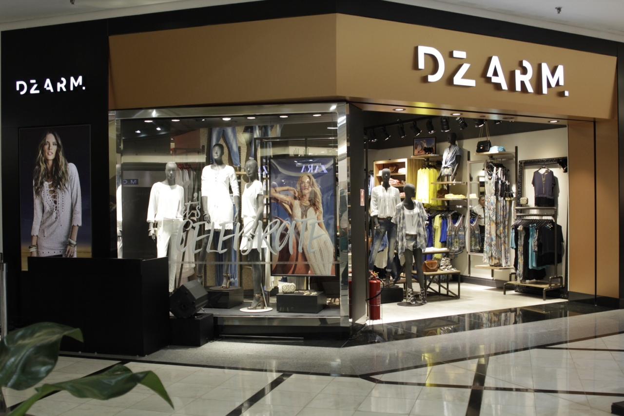 0507d8d24f4 ... mais uma loja da DZARM.. O local escolhido é o Shopping Eldorado