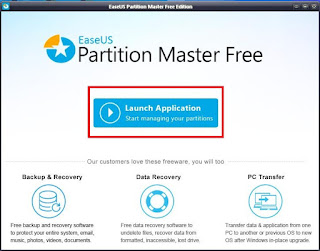 Gambar 1 - Easeus Partition Master Free