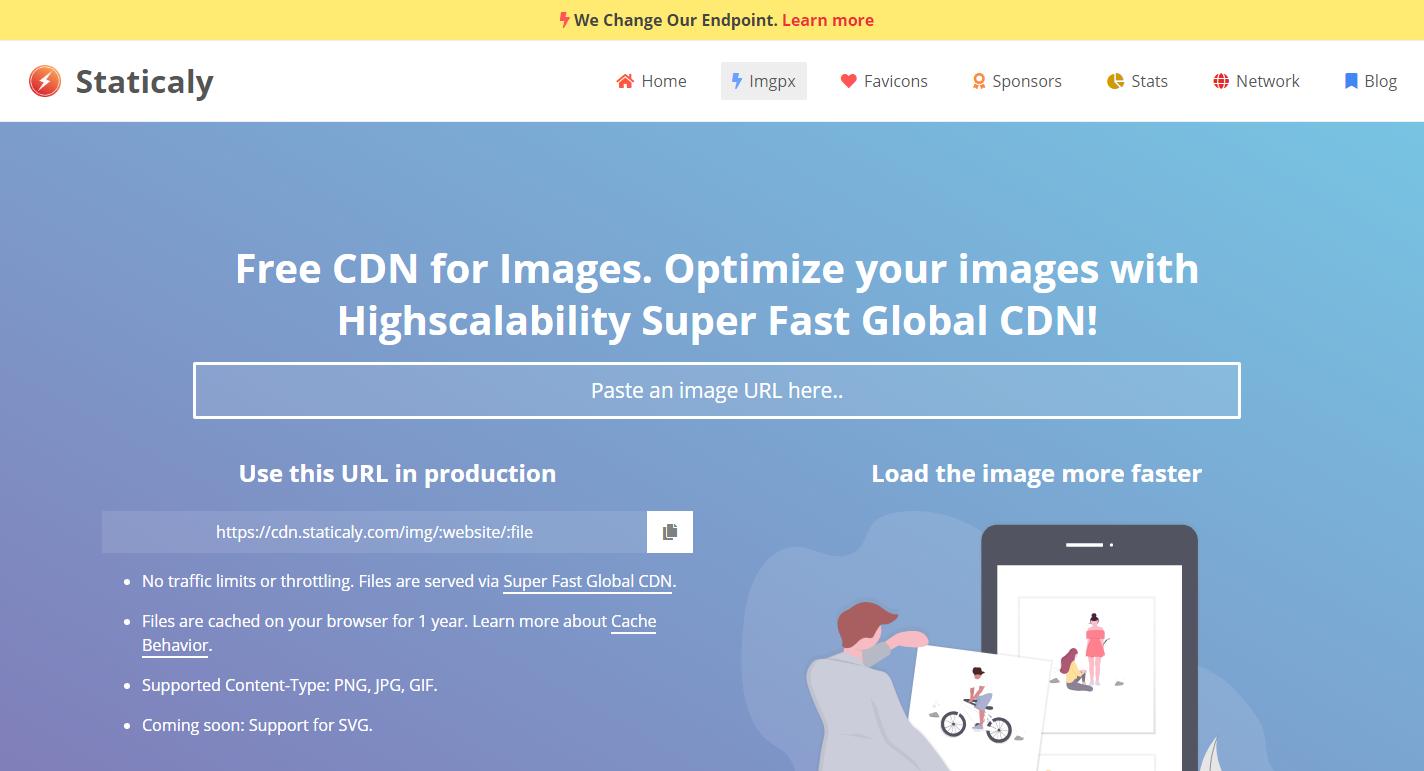 Menggunakan Staticaly Untuk Sumber CDN Gambar Blogger