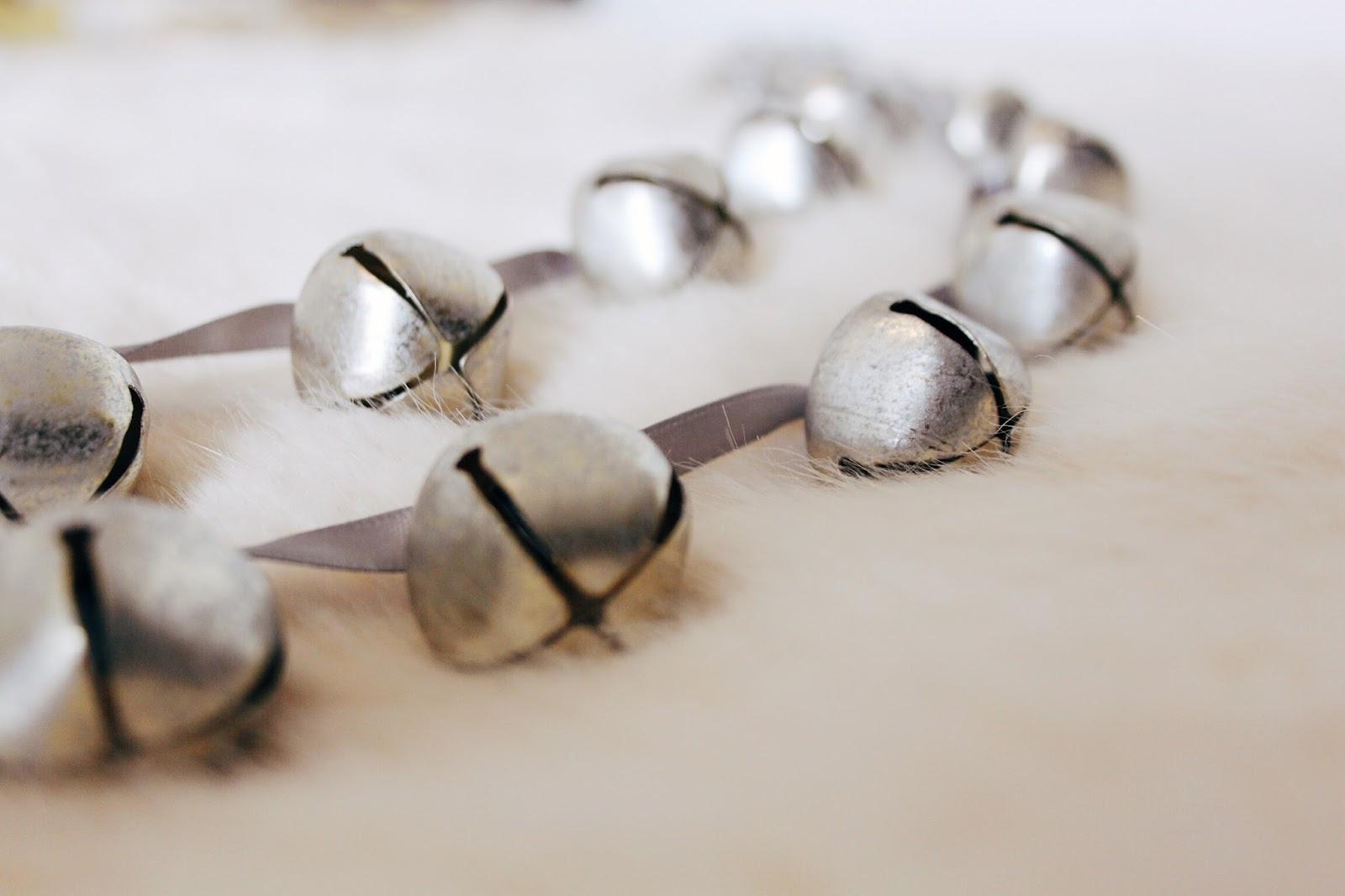 laura ashley silver bells decoration