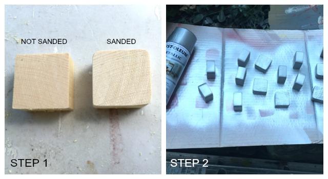 tape measure ornaments step 1