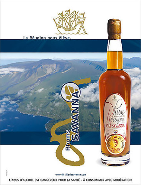 pub La Réunion, rhum vieux cap savanna