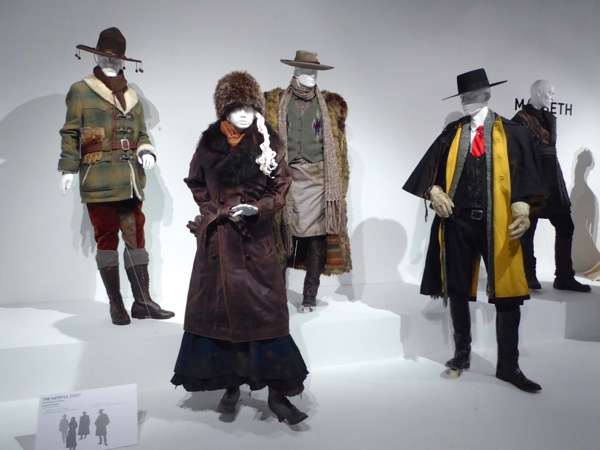 Hateful Eight film costume exhibit firm