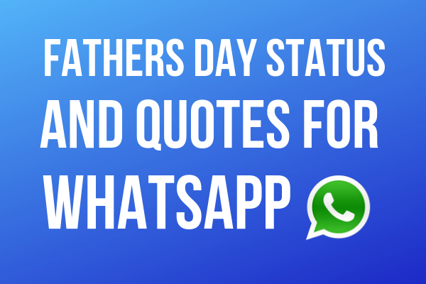 Hindi Fathers Day Status and Quotes For Whatsapp