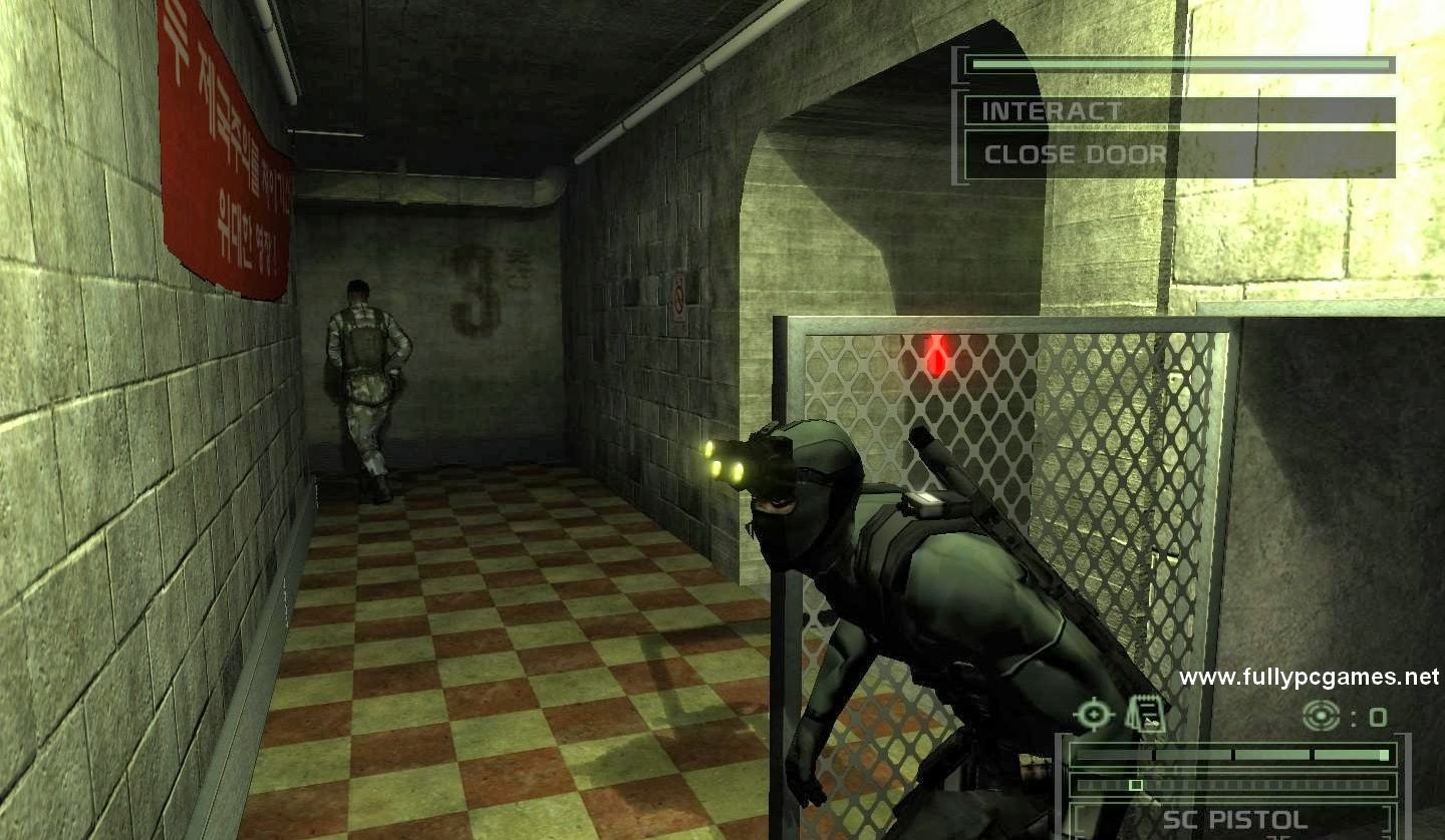 Tom Clancy's Splinter Cell Chaos Theory Game - Free ...