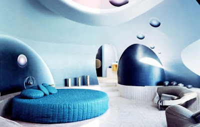 architect Antti Lovag - modern vintage home decor ideas - palais bulles