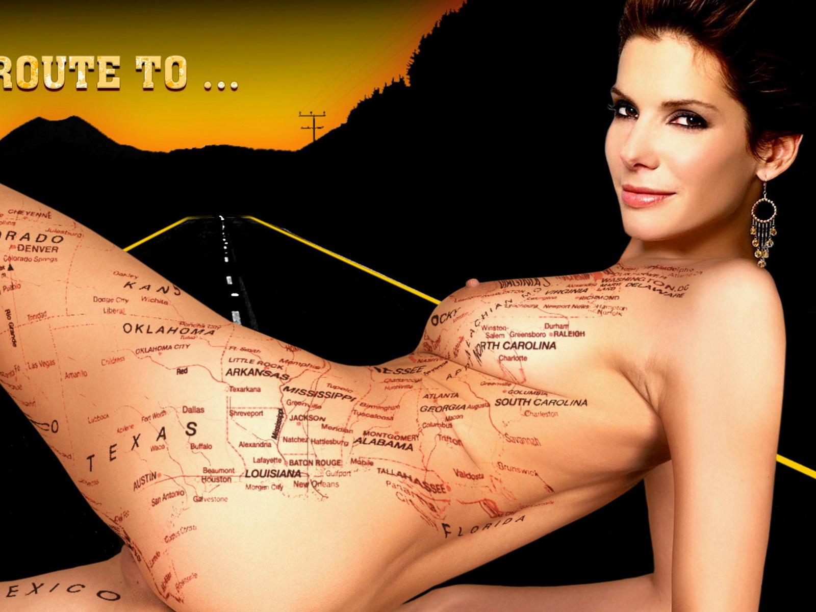 Girls Celebrity Nude Sandra Bullock Nude-5467