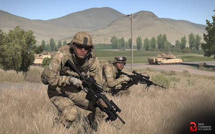 arma3 rhs: escalation modのアメリカ軍ユニット