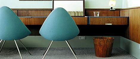 おしゃれな北欧の家具。アルネ・ヤコブセンの家具【a】 ドロップチェア
