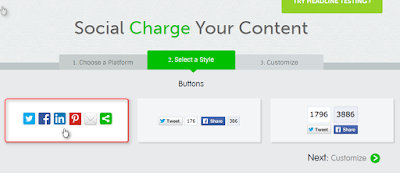 Cara memasang ShareThis button di posting blogger