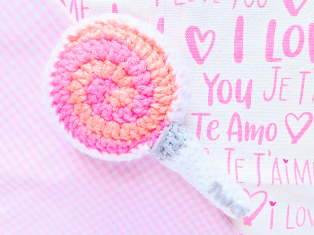 TWICE CANDY BONG Fan Stick Crochet Pattern