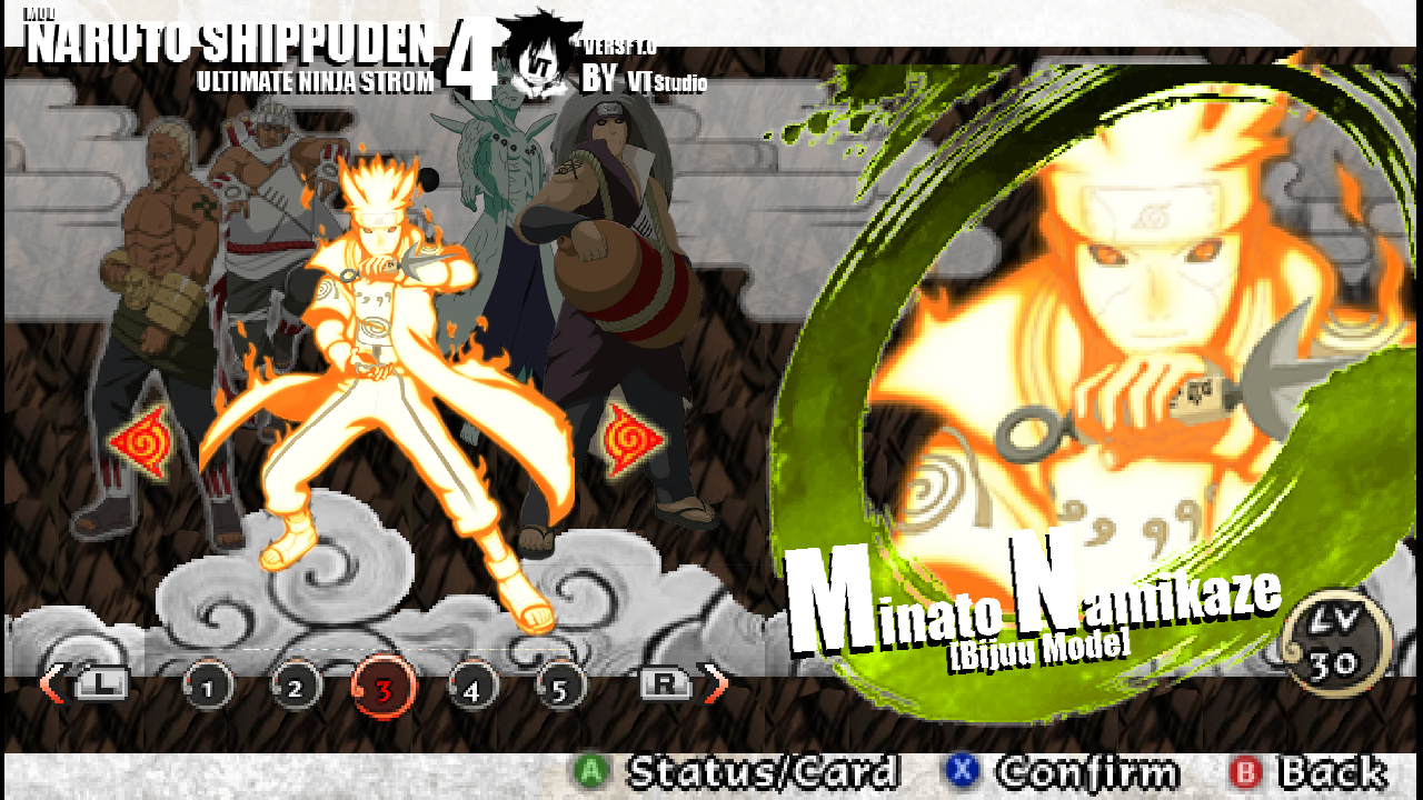 download game ppsspp naruto impact mod storm 4